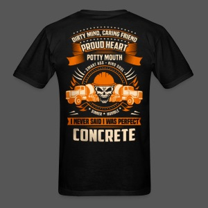 Concrete Worker 10 - Men's T-Shirt