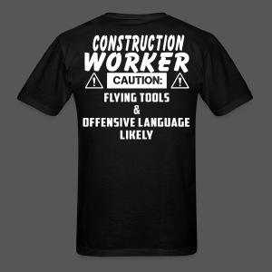 Construction Worker 01 - Men's T-Shirt