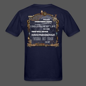Construction Worker 07 - Men's T-Shirt