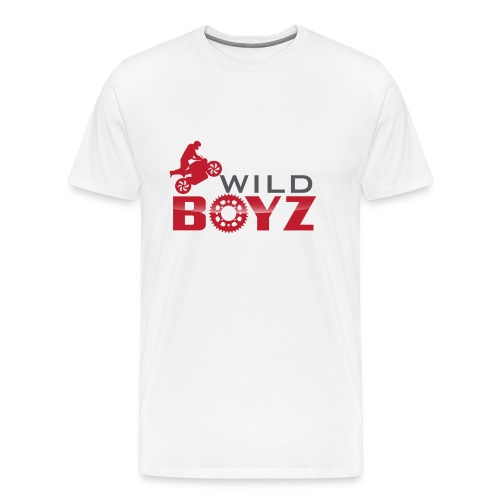 Men's WildBoyz White T - Men's Premium T-Shirt