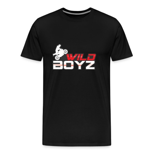 Men's WildBoyz Black T - Men's Premium T-Shirt