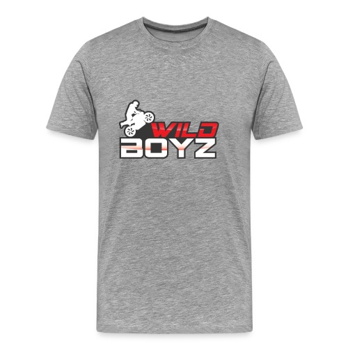 Mens' WildBoyz Grey T - Men's Premium T-Shirt