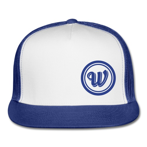 Snapback - Blue logo - Trucker Cap