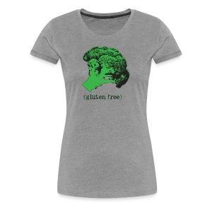 BROCCOLI (gluten free) -Premium Tee - Women's Premium T-Shirt