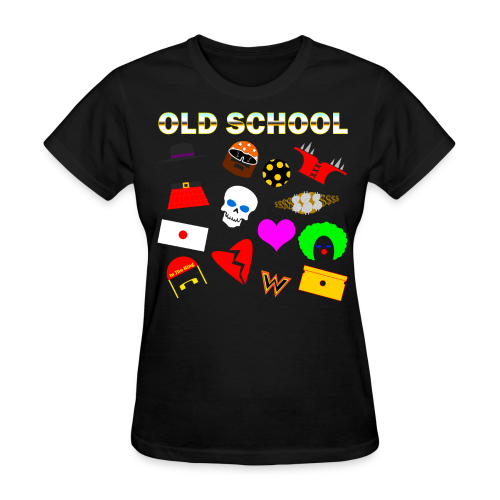 Old School In The Ring T-Shirt - Women's T-Shirt