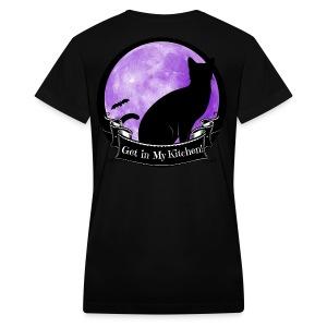 Limited:  Classic Logo Women's V-Neck T-Shirt - Women's V-Neck T-Shirt