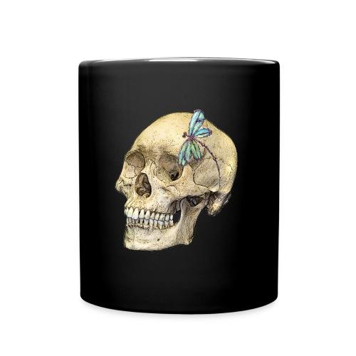 Skull & Dragonfly - Full Color Mug