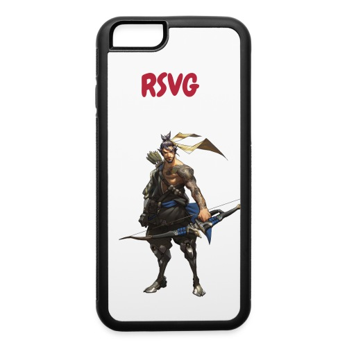 iphone 6/6s Case Rubber hanzo - iPhone 6/6s Rubber Case