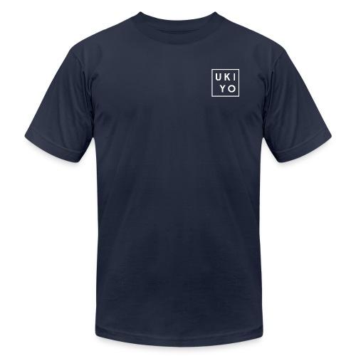 Ukiyo White Logo Tee - Men's  Jersey T-Shirt