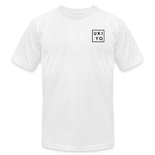 Ukiyo Black Logo Tee - Men's  Jersey T-Shirt