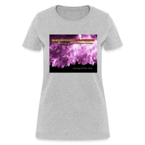 Managlitch aura storm women's t-shirt - Women's T-Shirt