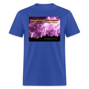 Managlitch aura storm men's t-shirt - Men's T-Shirt