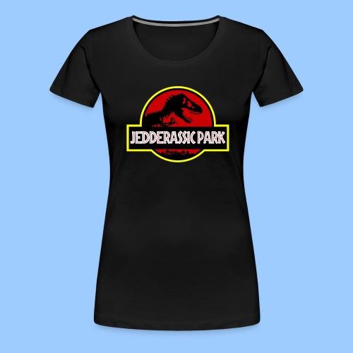 Woman's Jedderassic Park T-Shirt - Women's Premium T-Shirt