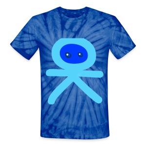 Unisex Tie Dye T-Shirt- BLUE - Unisex Tie Dye T-Shirt