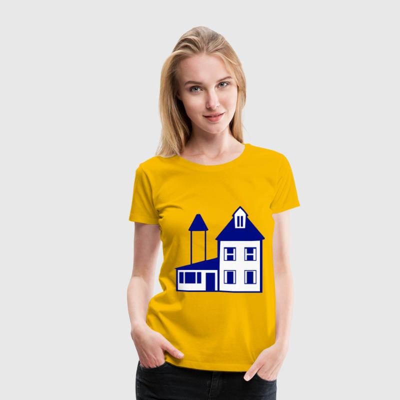 Blue House - Women's Premium T-Shirt
