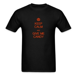 Keep Calm and GIve me Candy - Men's T-Shirt