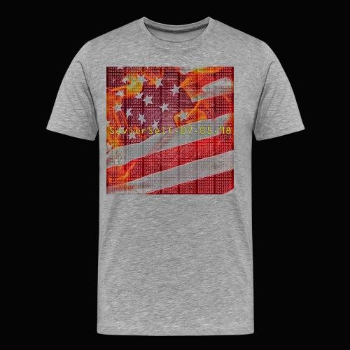 Break The Code Men's T-Shirt - Men's Premium T-Shirt