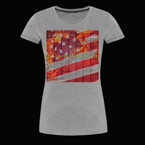 Break The Code Women's T-Shirt - Women's Premium T-Shirt