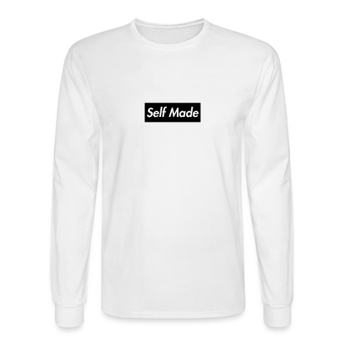 Black Supreme Style Self Made Music Men's Long Sleeve Shirt - Men's Long Sleeve T-Shirt