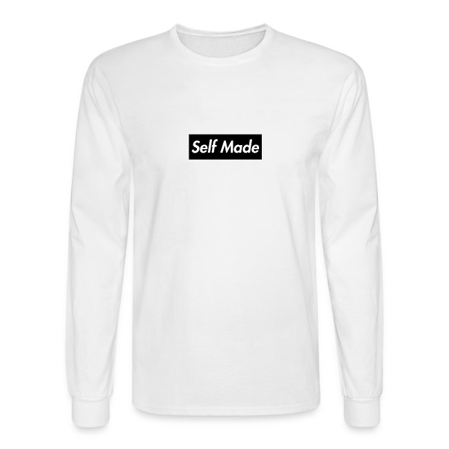 5c161a0ca9ab Self Made Merch | Black Supreme Style Self Made Music Mens Long ...