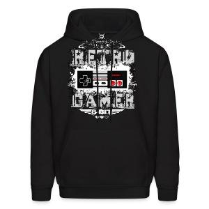 Retro Gamer - Men's Hoodie