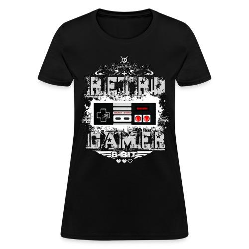 Retro Gamer - Women's T-Shirt