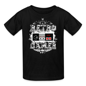 Retro Gamer - Kids' T-Shirt