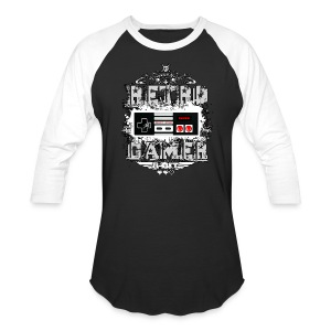 Retro Gamer - Baseball T-Shirt