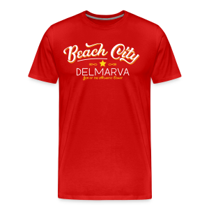 Beach City Men's Souvenir Tee - Men's Premium T-Shirt