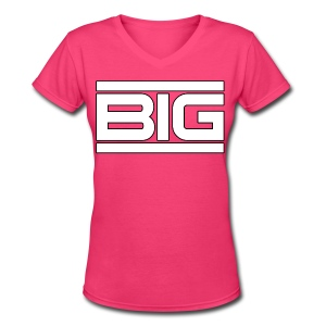 Big - Women's V-Neck T-Shirt