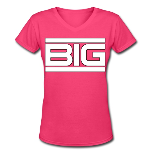Big - Women's V-Neck T-Shirt