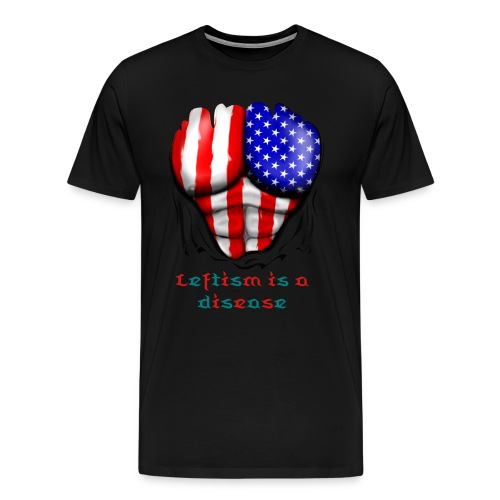 The American Right Winger  - Men's Premium T-Shirt