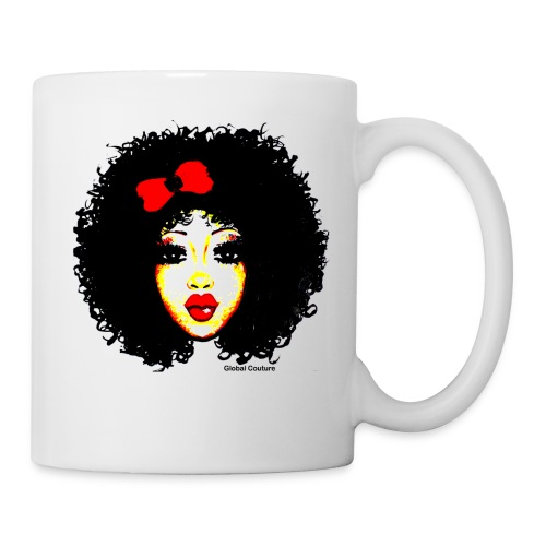 Curly Ashley cup/mug - Coffee/Tea Mug