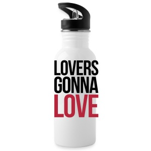 Lovers Gonna Love Funny Quote Sportswear - Water Bottle