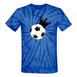 Unisex Football King T-Shirt - Unisex Tie Dye T-Shirt