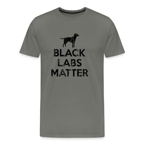 Black Labs Matter T-Shirt - Men's Premium T-Shirt
