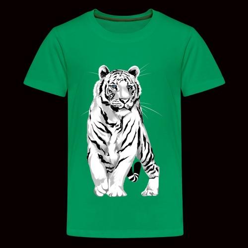 White Tiger - Kids' Premium T-Shirt
