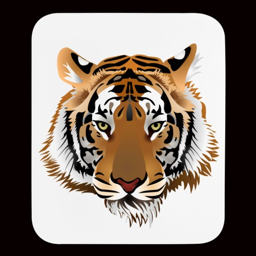 Tiger Head - Mouse pad Vertical