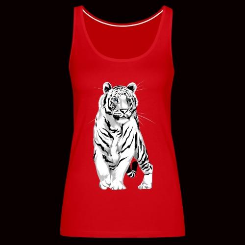 White Tiger - Women's Premium Tank Top