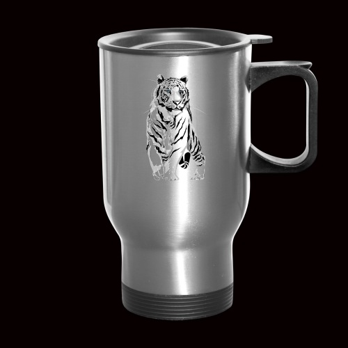 White Tiger - Travel Mug