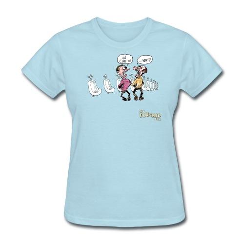 Urinal Etiquette (F) - Women's T-Shirt