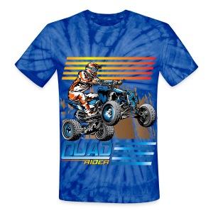 Quad Unisex Tie Dye T-Shirt - Unisex Tie Dye T-Shirt