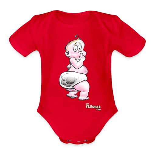 An Honest Baby Shirt - Organic Short Sleeve Baby Bodysuit