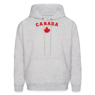 Hoodies ~ Men's Hoodie ~ Canada Arch Text