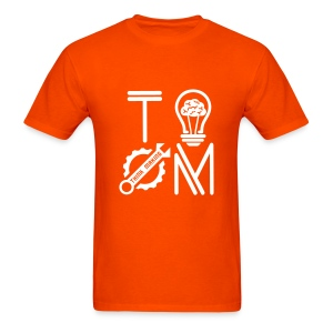 T-shirt Navy Orange - Men's T-Shirt