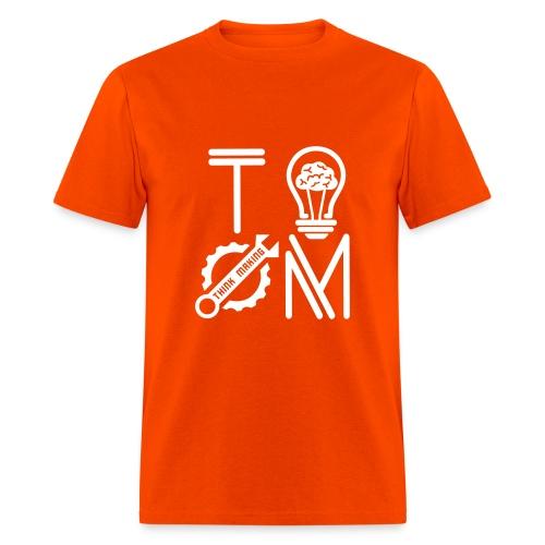T-shirt Navy Orange - Men's T-Shirt