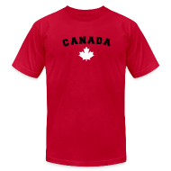 T-Shirts ~ Men's T-Shirt by American Apparel ~ Canada Arch Text