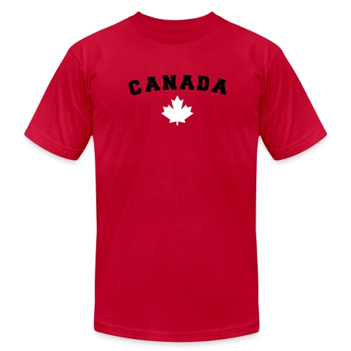 Canada Arch Text - Men's Jersey T-Shirt
