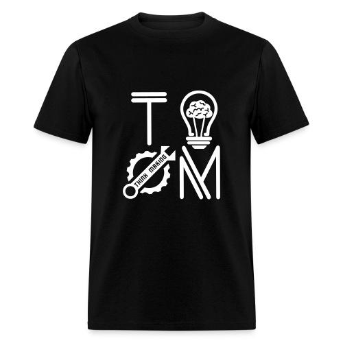 White Logo T-shirt - Men's T-Shirt