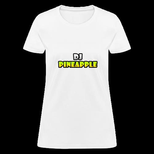 DJ Pineapple Women T-Shirt - Women's T-Shirt
